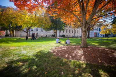 Fall on the Quad